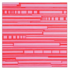 Index Red Pink Large Satin Scarf (Square)