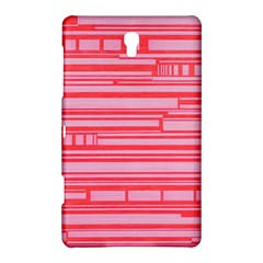 Index Red Pink Samsung Galaxy Tab S (8 4 ) Hardshell Case