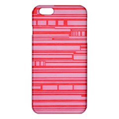 Index Red Pink Iphone 6 Plus/6s Plus Tpu Case