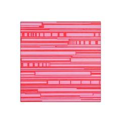 Index Red Pink Satin Bandana Scarf
