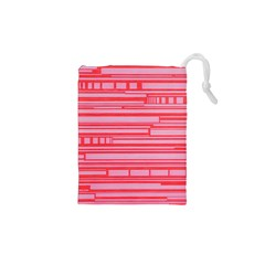Index Red Pink Drawstring Pouches (xs)