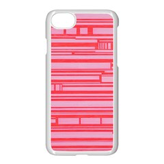 Index Red Pink Apple Iphone 7 Seamless Case (white)