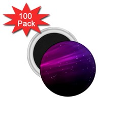 Purple Wallpaper 1.75  Magnets (100 pack)