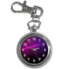 Purple Wallpaper Key Chain Watches