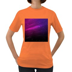 Purple Wallpaper Women s Dark T Shirt