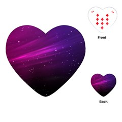 Purple Wallpaper Playing Cards (heart)
