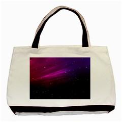 Purple Wallpaper Basic Tote Bag