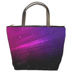 Purple Wallpaper Bucket Bags