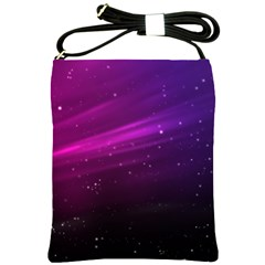 Purple Wallpaper Shoulder Sling Bags