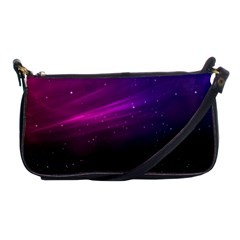 Purple Wallpaper Shoulder Clutch Bags
