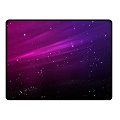Purple Wallpaper Fleece Blanket (small)