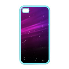 Purple Wallpaper Apple Iphone 4 Case (color)