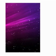 Purple Wallpaper Large Garden Flag (two Sides)
