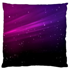 Purple Wallpaper Large Cushion Case (two Sides)