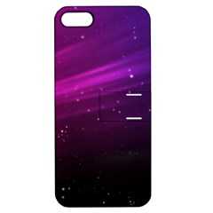 Purple Wallpaper Apple Iphone 5 Hardshell Case With Stand