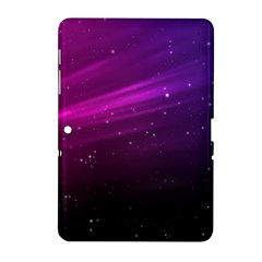 Purple Wallpaper Samsung Galaxy Tab 2 (10 1 ) P5100 Hardshell Case