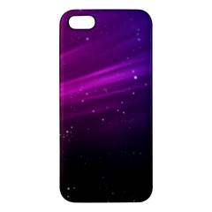 Purple Wallpaper Iphone 5s/ Se Premium Hardshell Case