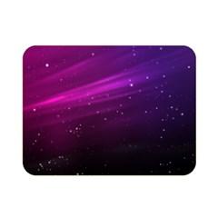 Purple Wallpaper Double Sided Flano Blanket (mini)