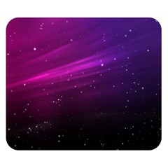 Purple Wallpaper Double Sided Flano Blanket (small)