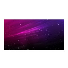 Purple Wallpaper Satin Wrap