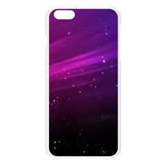 Purple Wallpaper Apple Seamless iPhone 6 Plus/6S Plus Case (Transparent)