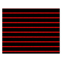 Red And Black Horizontal Lines And Stripes Seamless Tileable Rectangular Jigsaw Puzzl