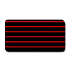 Red And Black Horizontal Lines And Stripes Seamless Tileable Medium Bar Mats