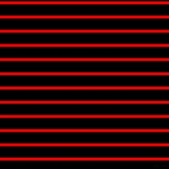 Red And Black Horizontal Lines And Stripes Seamless Tileable Magic Photo Cubes
