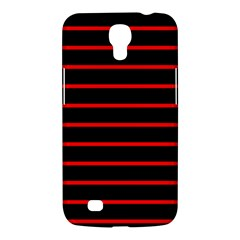 Red And Black Horizontal Lines And Stripes Seamless Tileable Samsung Galaxy Mega 6 3  I9200 Hardshell Case