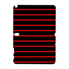 Red And Black Horizontal Lines And Stripes Seamless Tileable Galaxy Note 1