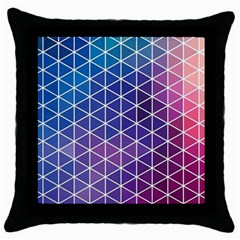 Neon Templates And Backgrounds Throw Pillow Case (black)