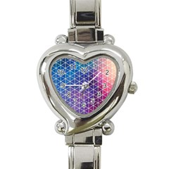 Neon Templates And Backgrounds Heart Italian Charm Watch