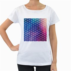 Neon Templates And Backgrounds Women s Loose Fit T Shirt (white)
