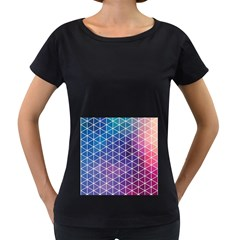 Neon Templates And Backgrounds Women s Loose Fit T Shirt (black)