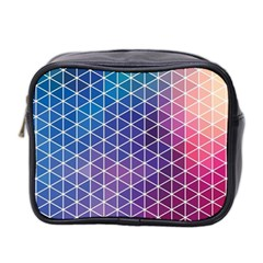 Neon Templates And Backgrounds Mini Toiletries Bag 2 Side