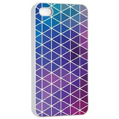 Neon Templates And Backgrounds Apple Iphone 4/4s Seamless Case (white)