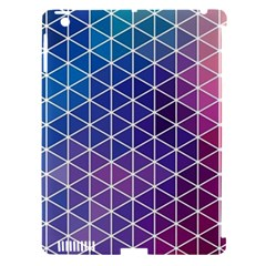 Neon Templates And Backgrounds Apple Ipad 3/4 Hardshell Case (compatible With Smart Cover)
