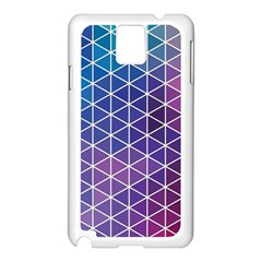 Neon Templates And Backgrounds Samsung Galaxy Note 3 N9005 Case (white)