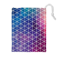 Neon Templates And Backgrounds Drawstring Pouches (extra Large)