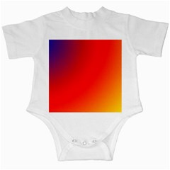 Rainbow Background Infant Creepers
