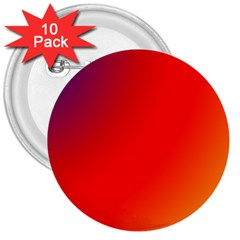 Rainbow Background 3  Buttons (10 Pack)