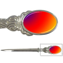 Rainbow Background Letter Openers