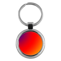 Rainbow Background Key Chains (round)