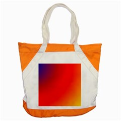 Rainbow Background Accent Tote Bag
