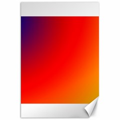 Rainbow Background Canvas 20  X 30