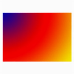 Rainbow Background Large Glasses Cloth (2-Side)