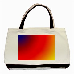 Rainbow Background Basic Tote Bag (two Sides)