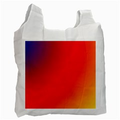 Rainbow Background Recycle Bag (two Side)