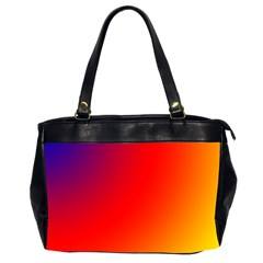 Rainbow Background Office Handbags (2 Sides)