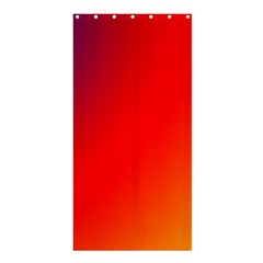 Rainbow Background Shower Curtain 36  X 72  (stall)